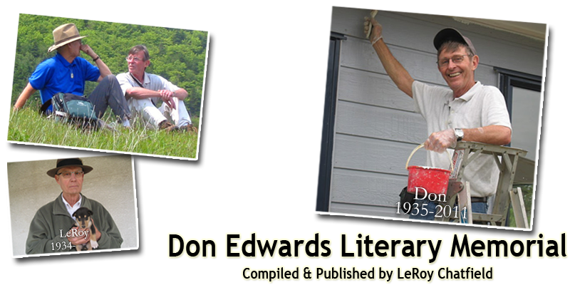 Don Edwards Literary Memorial